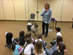 Fozzie at a humane education program